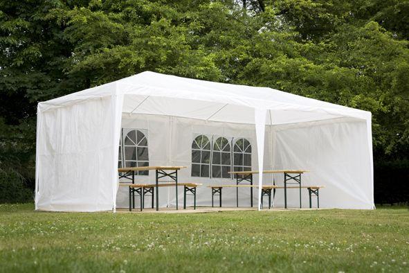petite tente de réception ou grand stand avec fenêtre à louer dans les yvelines