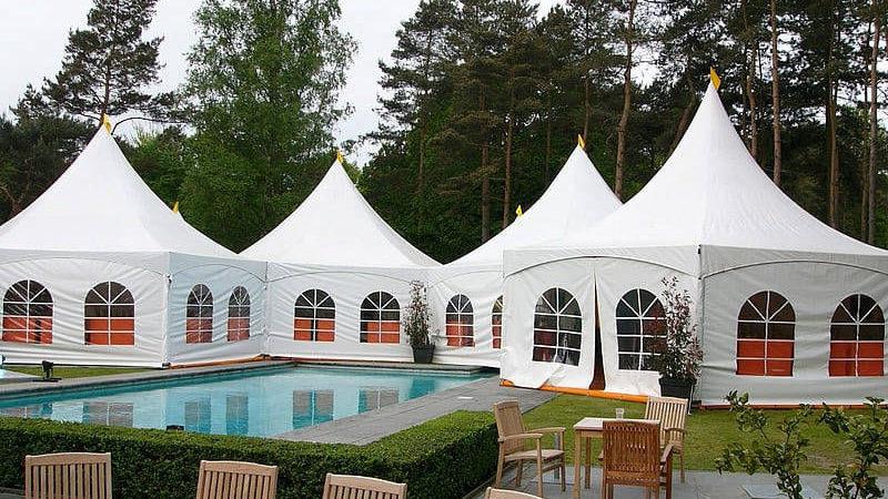 pagodes mariage et piscine chateau ile de france
